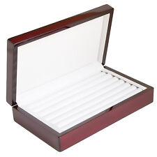 Ring Jewelry Box Storage Organizer Holder Chest Case Collection Compartment NEW