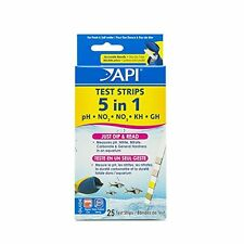 API 5 in 1 Aquarium Test Strips New