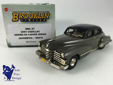 1/43 BROOKLIN BML 07 CADILLAC SERIE 62 4 DOOR SEDAN 1947 GUN METAL GRAY