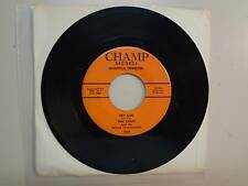 "THEE SAINTS & PRINCE OF DARKNESS: Hey Girl-Running-U.S. 7"" 65 Champ Records 2006"