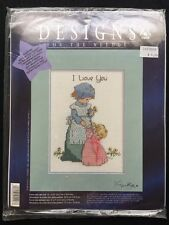 Designs for the Needle I Love You Counted Cross Stitch Kit