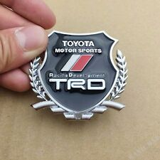 Metal TRD Sport Car Emblem Badge Decal Sticker Fit for Toyota Corolla Camry RAV4