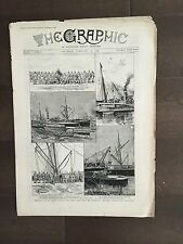 """""""THE GRAPHIC"""" (A Beautifully Illustrated British Weekly Newspaper)-Feb.23, 1889"""