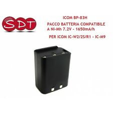 BP-83-h BATTERY Ni-Mh 7.2V - 1650mA/h FOR ICOM IC-W2/2S/R1 - IC-M9