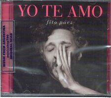 FITO PAEZ YO TE AMO SEALED CD NEW 2013