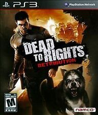 Dead to Rights: Retribution (PS3)  *Sealed*
