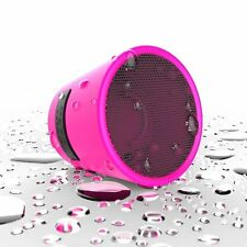 TDK Trek Mini Portable Wireless Bluetooth Travel WaterProof Speaker Pink iphone