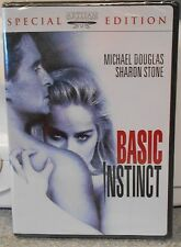 Basic Instinct (DVD 2003 Special Edition Rated R) RARE 1992 CRIME MYSTERY NEW