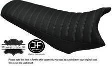 GRIP VINYL LINE DESIGN GREY STITCH CUSTOM FITS CCM 604 RS DUAL SEAT COVER ONLY