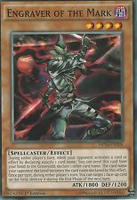 YU-GI-OH CARD: ENGRAVER OF THE MARK - MP16-EN208 1ST EDITION