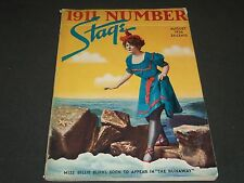 1936 AUGUST THE STAGE MAGAZINE - MISS BILLIE BURKE - GREAT PHOTOS & ADS - ST 66