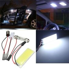 T10 COB 36 LED Car Panel Interior Festoon Dome Adapter Light Lamp Bulb White 12V