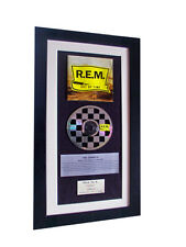 REM Out Of Time CLASSIC CD Album GALLERY QUALITY FRAMED+EXPRESS GLOBAL SHIP