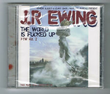 JR EWING - THE WORLD IS FUCKED UP FTW VOL 2 - CD 26 TRACKS - 2006 - NEUF NEW NEU