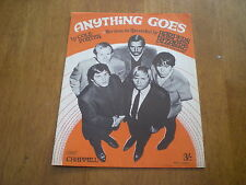 HARPERS BIZARRE - ANYTHING GOES = SHEET MUSIC