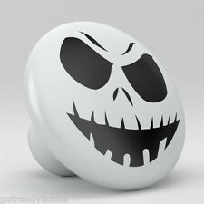 Nightmare Christmas Jack Face Skellington Ceramic Knobs Pull Drawer Vanity 740