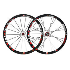 American Classic Carbon 38 Tubular Campagnolo Wheelset 9/10/11 Speed Freehub New