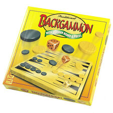 Backgammon Traditional Wooden Game