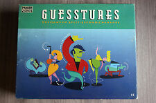 GUESSTURES THE GAME OF SPLIT SECOND CHARADES PARKER AGE 12+ 100% COMPLETE