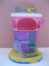 Squinkies Roller Coaster Mall Restaurant CAFE-Secret Storage Door~LikNew Excelnt