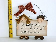 Lovely Lady Plaque Christmas Gift Ideas for her Mum Mother Grandma Nan Nana