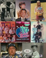 TV'S COOLEST CLASSICS FULL 90 CARD BASE SET BRADY BUNCH ANDY GRIFFITH ++ W/ WRAP