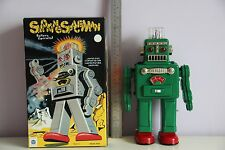SMOKING ROBOT ROBBY ROBOT TIN TOY WIND UP NOMURA ALPS YOSHIYA HORIKAWA TAKATOKU