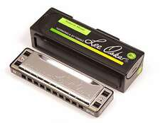 Genuine New Lee Oskar 1910 Natural Minor Harmonica or Harp. Key of B Flat Minor