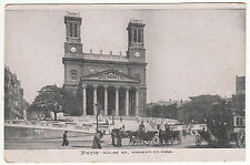 CARTE POSTALE PARIS EGLISE SAINT VINCENT DE PAUL