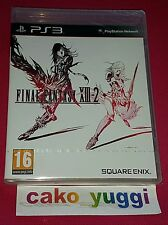 FINAL FANTASY XIII-2 PS3 SONY NEUF SOUS BLISTER VERSION 100% FRANCAISE