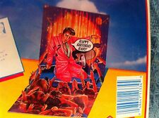 "NEW ELVIS PRESLEY 3D POP SHOTS ""BIRTHDAY ROCK"" POP UP CARD"