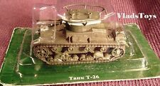 Eaglemoss 1:72 OKMO Light Tank T-26 Soviet Army, USSR EMR0072