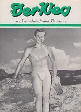 Der Weg zu Freundschaft und Toleranz 11 / 1955 Gay Magazin