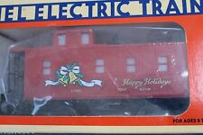1993 Lionel 6-16547 Christmas Square Window Caboose L2675