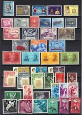 BRITISH COMMON 1940-60's COLL OF 325 MINT IN SINGLES SET & BLOCKS OF 4 INC XMAS