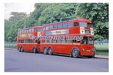 gw0445 - London Trolleybus no 1426 at Hampton Court in 1962 - photograph
