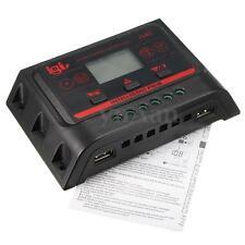 LCD 30A 12V/24V USB PWM Regolatore di Carica Solare Pannello Batterie Controller