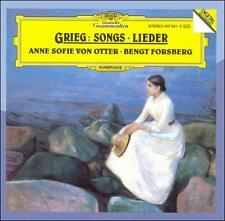 Grieg: Songs (CD, Feb-2007, DG Deutsche Grammophon (USA)) (cd3578)