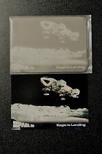 SPACE 1999 FRONT PRINTERS PLATE FOR CARD 51 EAGLE LANDING PLUS Exc Promo BJB1