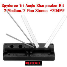 Spyderco Triangle Sharpmaker Sharpening Set, 2 Medium/2 Fine 204MF