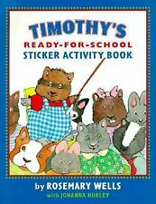 Timothy's Ready for School Sticker Activity Book