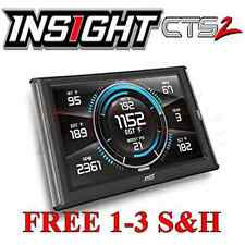 Edge Insight CTS2 Monitor 2001-2015 GMC Sierra 6.6L Duramax Diesel