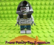 LEGO Minifigure Pharaoh Quest MUMMY WARRIOR with Gold SCIMITAR Weapon Part Lot