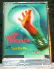 I Love Your Presence Live From The UK CASSETTE TAPE NEW