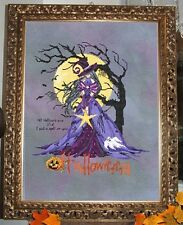 "COMPLETE XSTITCH MATERIALS  ""GOTHIC HALLOWEEN"" RL44 by Passione Ricamo"