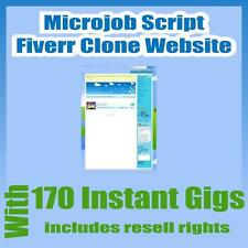 Microjobs Website Fiverr Clone Script With 170 gigs Installation + Free Hosting