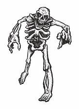 1x skeleton sticker Motorcycle Gas Tank or Car decal 3