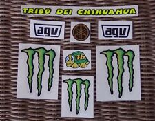 Helmet decal sticker Kit Set Valentino Rossi 2013 - tribu' dei Chihuahua -Yamaha