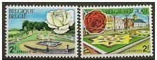 Belgium**ROSE PASCALI-JARDINS ANNEVOIE-BEGONIA-FLOWERS-2vals-1969- Fleurs-Bloem