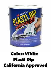 Performix Plasti Dip Spray 50 White Gallon Low VOC California CA Free S/H